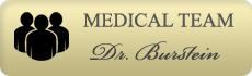 Dr. Fernando Burstein introduces his medical team