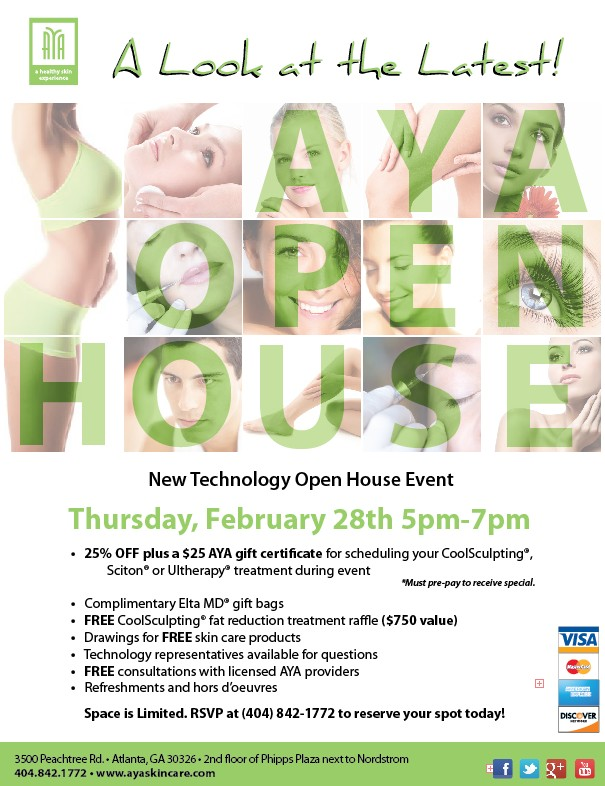 Aya Medical Spa Phipps Plaza Open House Event
